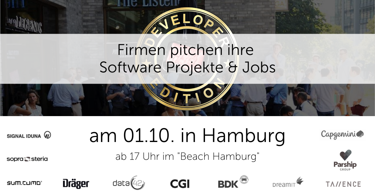 Pitch Club Developer Edition #61 in Hamburg