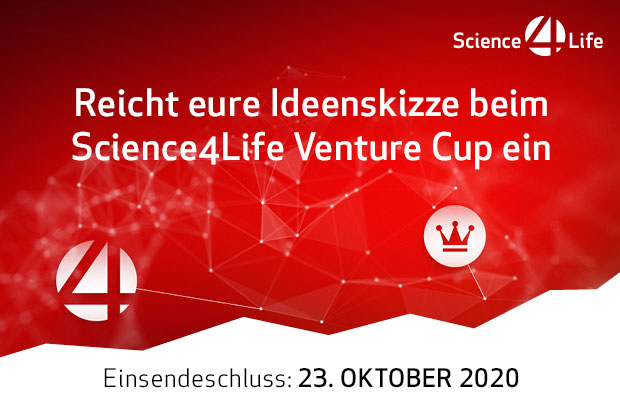 Science4Life Venture Cup Ideenphase 2020