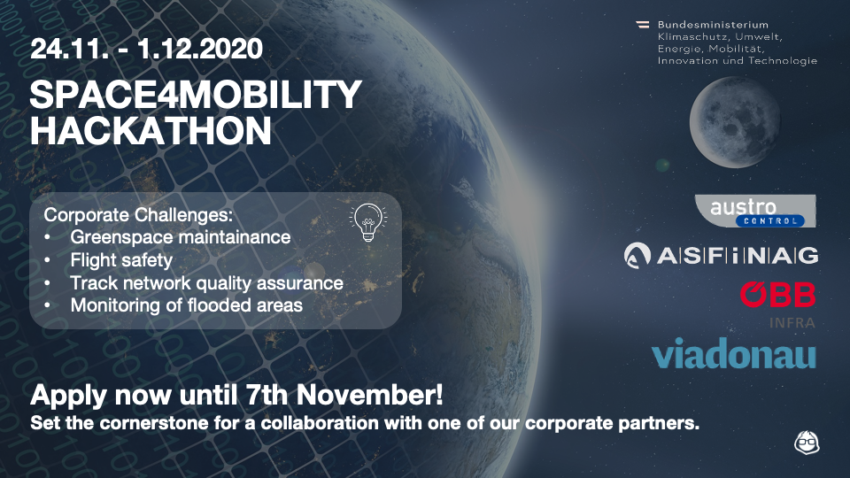 CALL FOR APPLICATIONS – Space4Mobility Hackathon