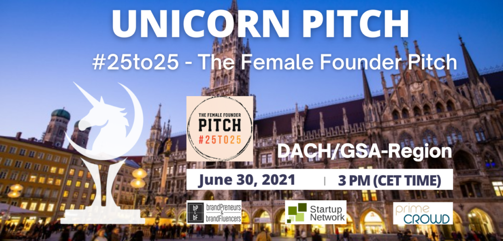 #25to25 - The Female Founder Pitch.